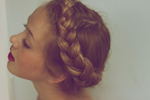 hair milkmaid braids